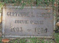 Gertrude Louise Gertie Ernst