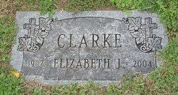 Elizabeth J Clarke