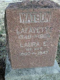 Laura E. <i>Clinkenbeard</i> Watson