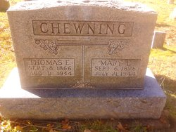 Mary E Chewning