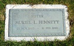 Muriel Lavina Bennett