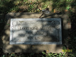 Lawrence D Ahrens