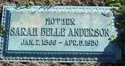 Sarah Belle Belle <i>Hibbs</i> Anderson