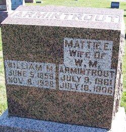 Mattie E. <i>McClaskey</i> Armintrout