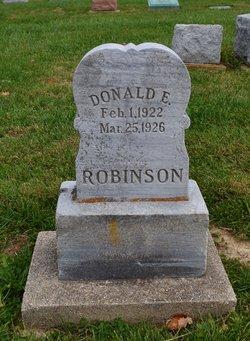 Donald E Robinson