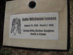 Julie <i>Wickman</i> Leones