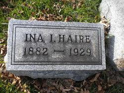 Ina Irene <i>Hawver</i> Haire