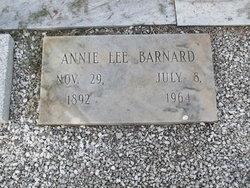 Annie Lee <i>Sims</i> Barnard