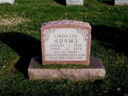 Linda Lee <i>Stout</i> Adams
