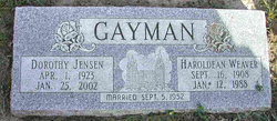 Dorothy Jensen Gayman