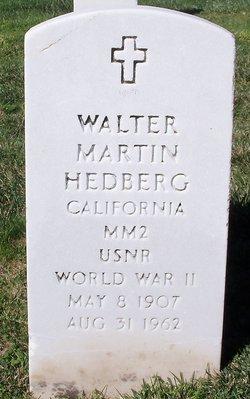 Walter Martin Hedberg