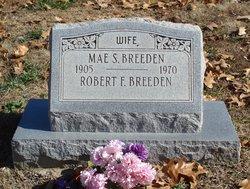 Mae S <i>Huddleston</i> Breeden