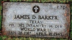 James D Barker