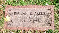 Beulah <i>White</i> Akers