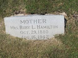 Ruby Lucie <i>Goodman</i> Hamilton