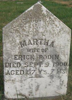 Martha <i>Neilson</i> Bodin