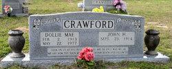 Dollie Mae <i>Hamilton</i> Crawford