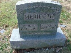 Susan Jane <i>Hazelwood</i> Merideth