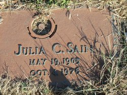 Julia Catherine <i>Stansell</i> Sain