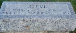 John A. Reeve