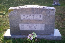 Alfred B Carter