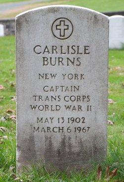 Capt Carlisle Burns