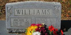 Eunice Elizabeth <i>Lee</i> Williams
