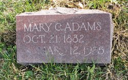Mary <i>Chandler</i> Adams
