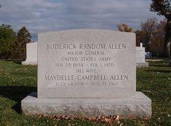 Maydelle <i>Campbell</i> Allen