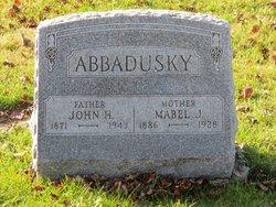Mabel Jane <i>Baughman</i> Abbadusky