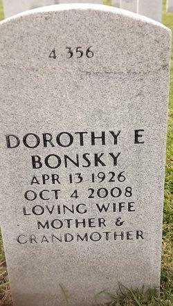 Dorothy Elizabeth Bonsky
