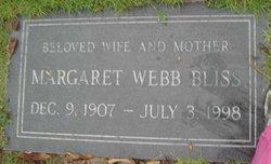 Margaret Flack <i>Webb</i> Bliss
