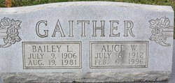 Alice W. <i>Alexander</i> Gaither