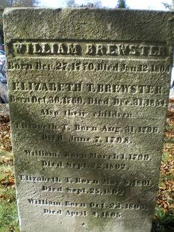 Capt William Brewster