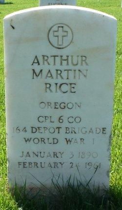 Arthur Martin Rice