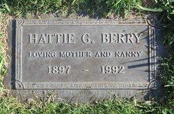 Hattie G <i>Stone</i> Berry
