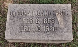 Dr. Edgar C. Anderson