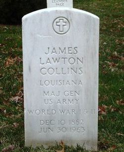 Gen James Lawton Collins, Sr