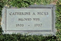 Catherine Alice <i>Pool</i> Nicks