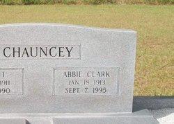 Abbie <i>Clark</i> Chauncey