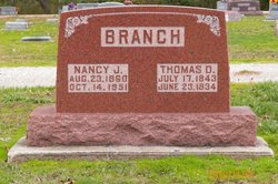 Nancy Jane <i>Farthing</i> Branch