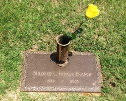 Mildred Lee <i>Parker</i> Branch