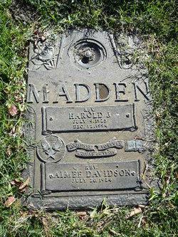 Rev Harold J Madden