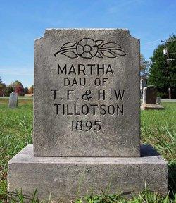 Martha Tillotson