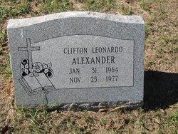 Clifton Leonardo Alexander