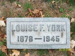 Louise H. <i>Furst</i> York