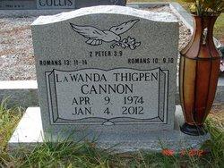 LaWanda Lynn <i>Thigpen</i> Cannon