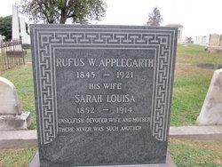 Sarah Louisa Applegarth