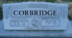 Margie <i>Mayne</i> Corbridge