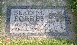 Blain Merlin Forbes